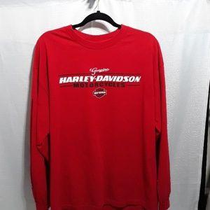 Men's Harley Davidson long sleeve